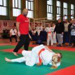 Mistrzostwa Polski Kyokushin sensei Kamil Bazelak sędzia (19)