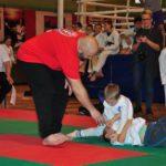 Mistrzostwa Polski Kyokushin sensei Kamil Bazelak sędzia (26)