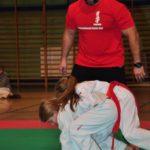 Mistrzostwa Polski Kyokushin sensei Kamil Bazelak sędzia (28)