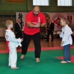 Mistrzostwa Polski Kyokushin sensei Kamil Bazelak sędzia (3)