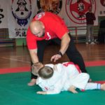 Mistrzostwa Polski Kyokushin sensei Kamil Bazelak sędzia (37)