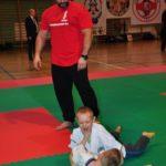 Mistrzostwa Polski Kyokushin sensei Kamil Bazelak sędzia (4)