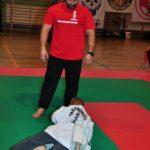 Mistrzostwa Polski Kyokushin sensei Kamil Bazelak sędzia (5)