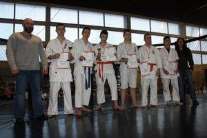 Puchar Polski Furo Karate Kamil Bazelak, Damian Loretnowicz, Jakub Wałoszek, Jerzy Kubiak, Bartosz Turek, Renata Wałoszek
