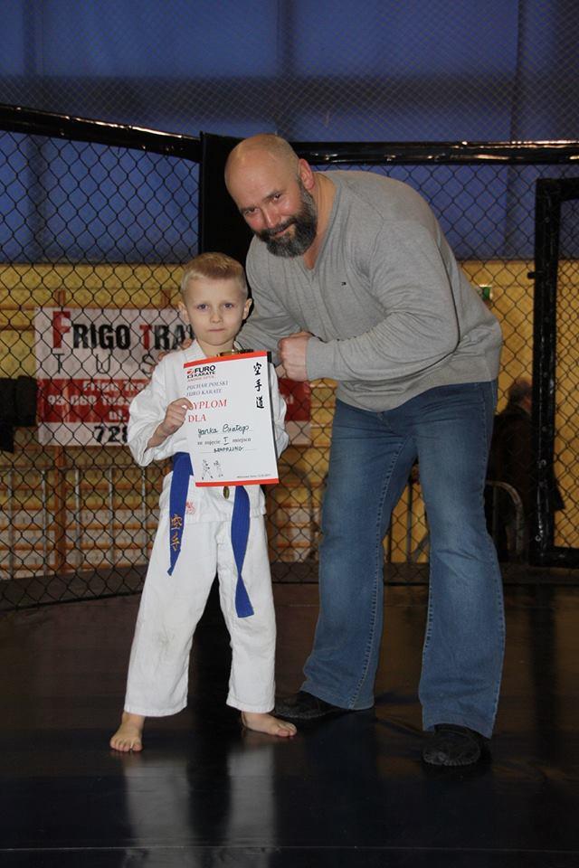 Puchar Polski Furo Karate Kamil Bazelak, Janek Biały