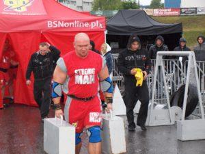 Kamil Bazelak strongman w Rzeszowie