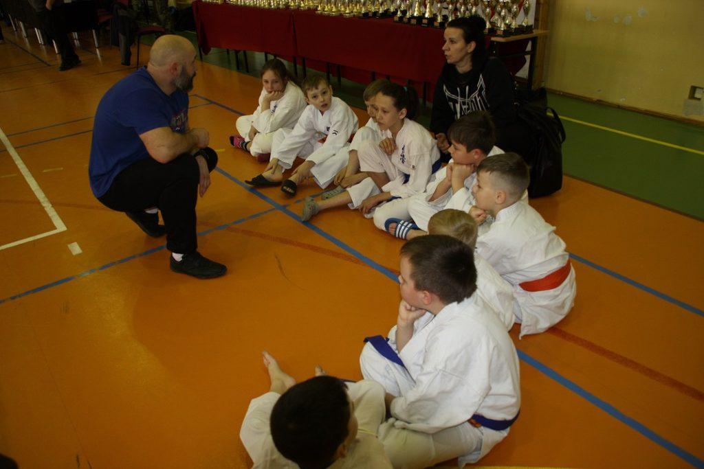 1 Kamil Bazelak i jego sekcja Kyokushin Karate
