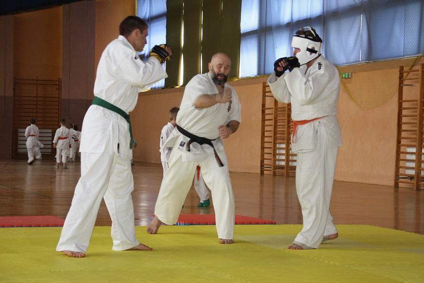 2 Mistrzostwa Gminy Andrespol Kyokushin IBK Kamil Bazelak i Przemysław Lenartowicz vs Dominik Olczak