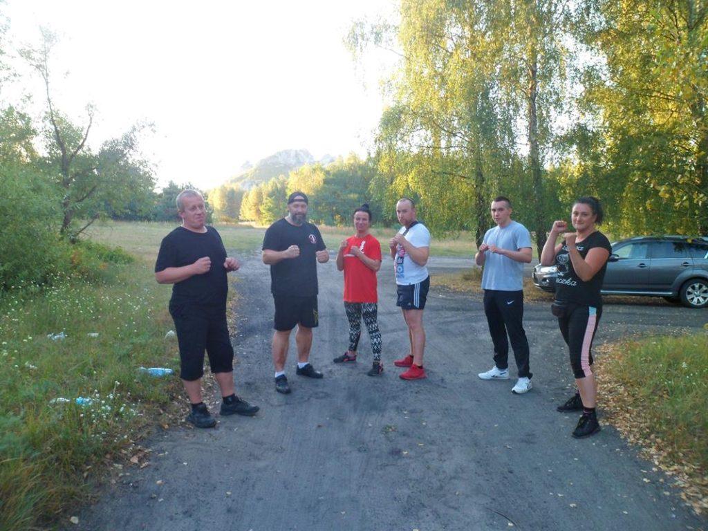 1 Obóz Kyokushin Andrespol Dojo Kokoro Bazelak, Ubowska, Bińczak, Musiński, Kubiak (Copy)