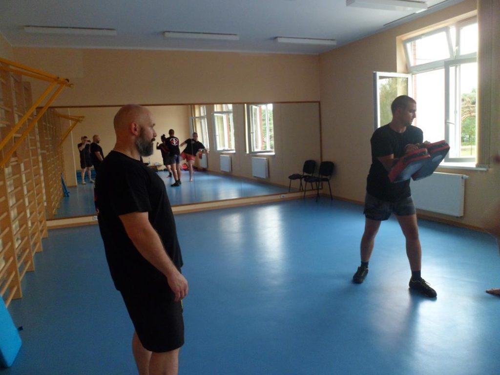10 Obóz letni Kyokushin Andrespol Kokoro Dojo Kamil Bazelak