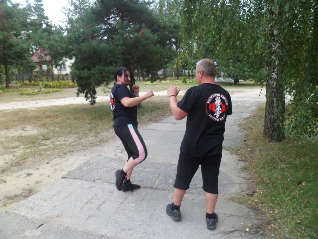 12 Obóz Kyokushin Andrespol Dojo Kokoro Monika Bińczak, Krzysztof Bińczak (Copy)