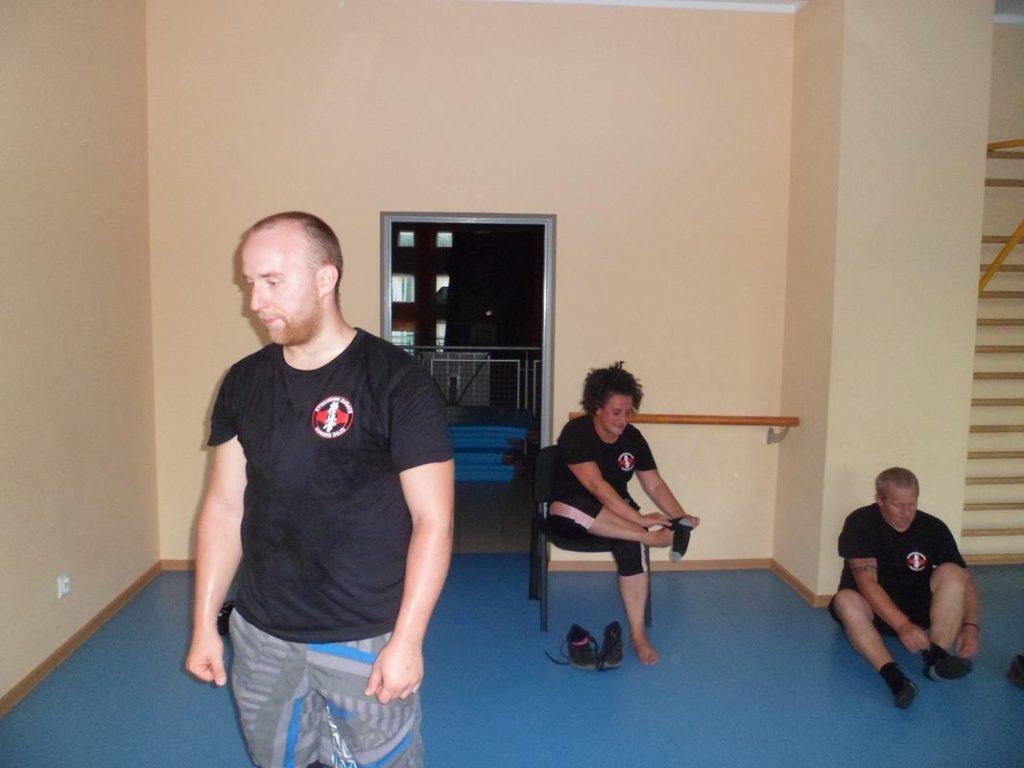 14 Obóz letni Kyokushin Andrespol Kokoro Dojo Przemysław Kubiak