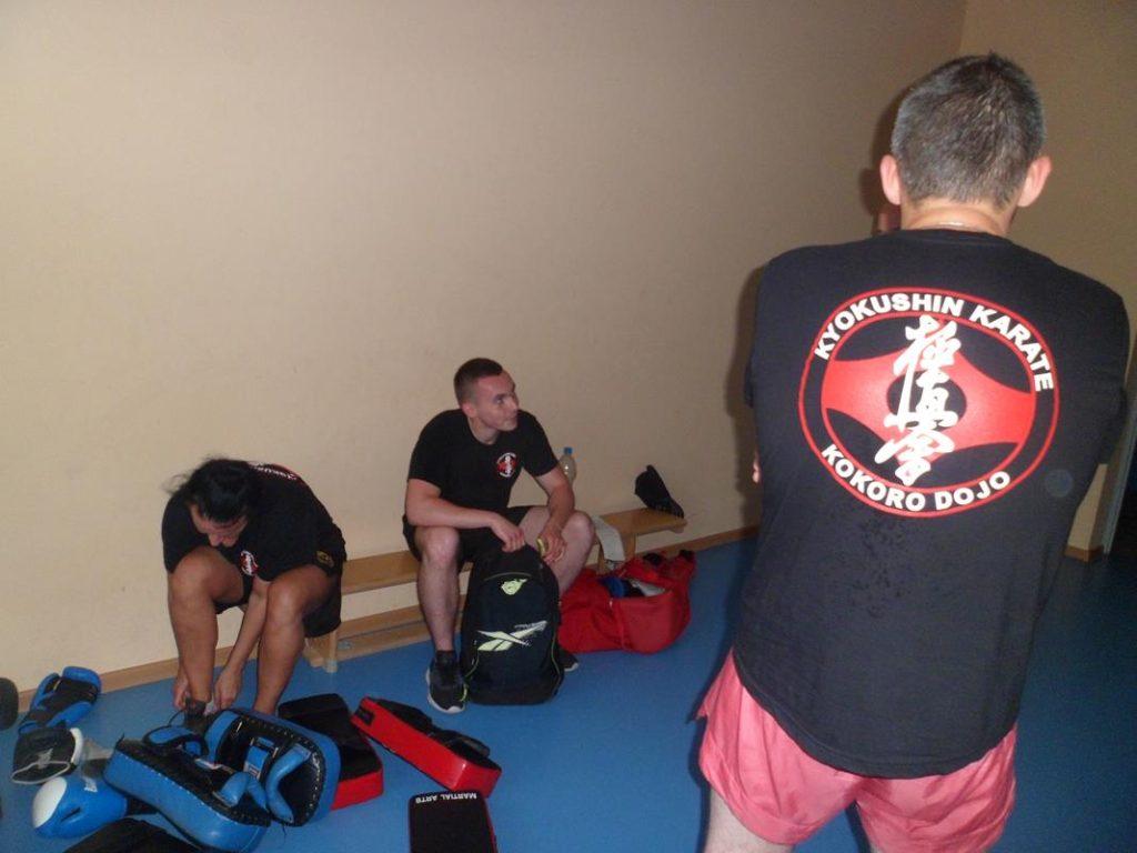 15 Obóz letni Kyokushin Andrespol Kokoro Dojo