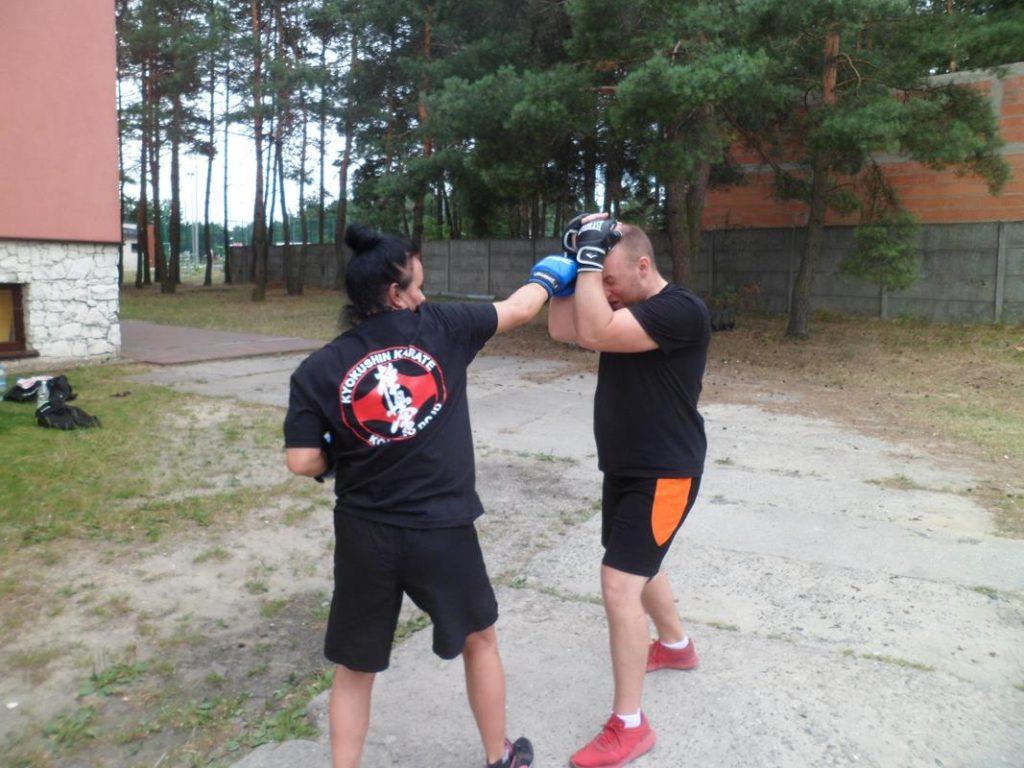 16 Obóz Kyokushin Andrespol Dojo Kokoro Przemysław Kubiak, Małgorzata Ubowska (Copy)