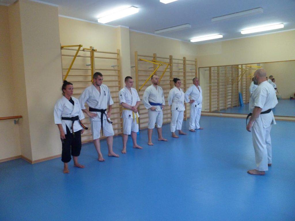 17 Obóz letni Kyokushin Andrespol Kokoro Dojo Musiński,Ubowska, Bazelak, Bińczak,Kubiak