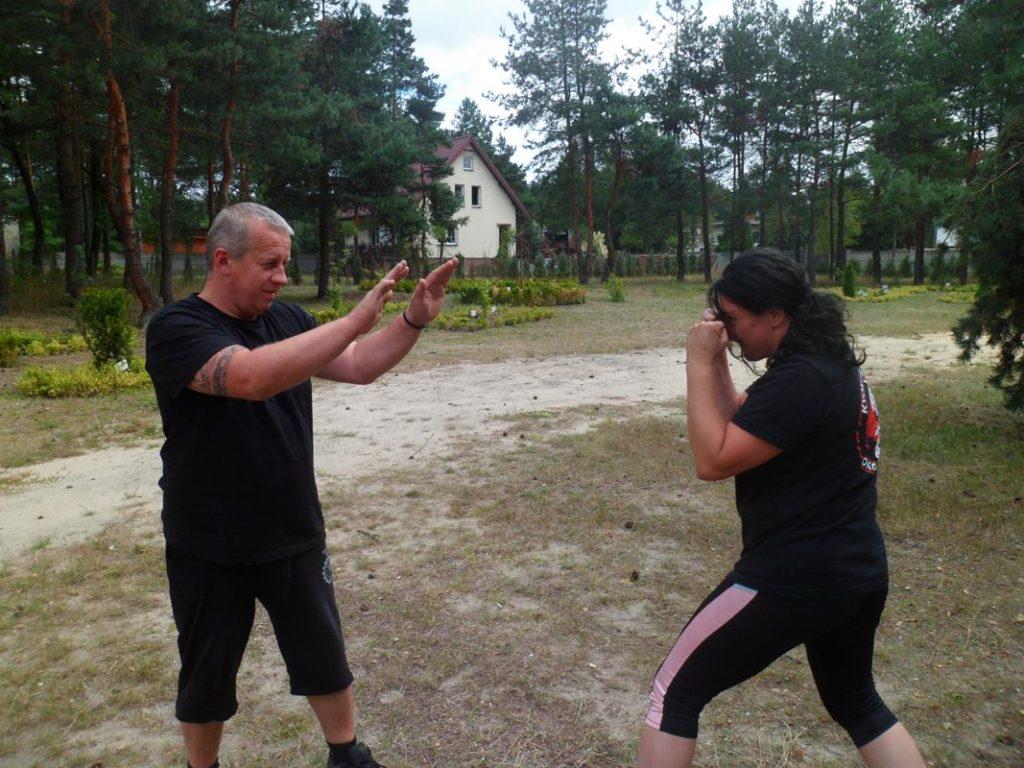 2 Obóz Kyokushin Andrespol Dojo Kokoro Krzysztif Bińczak, Monika Bińczak (Copy)