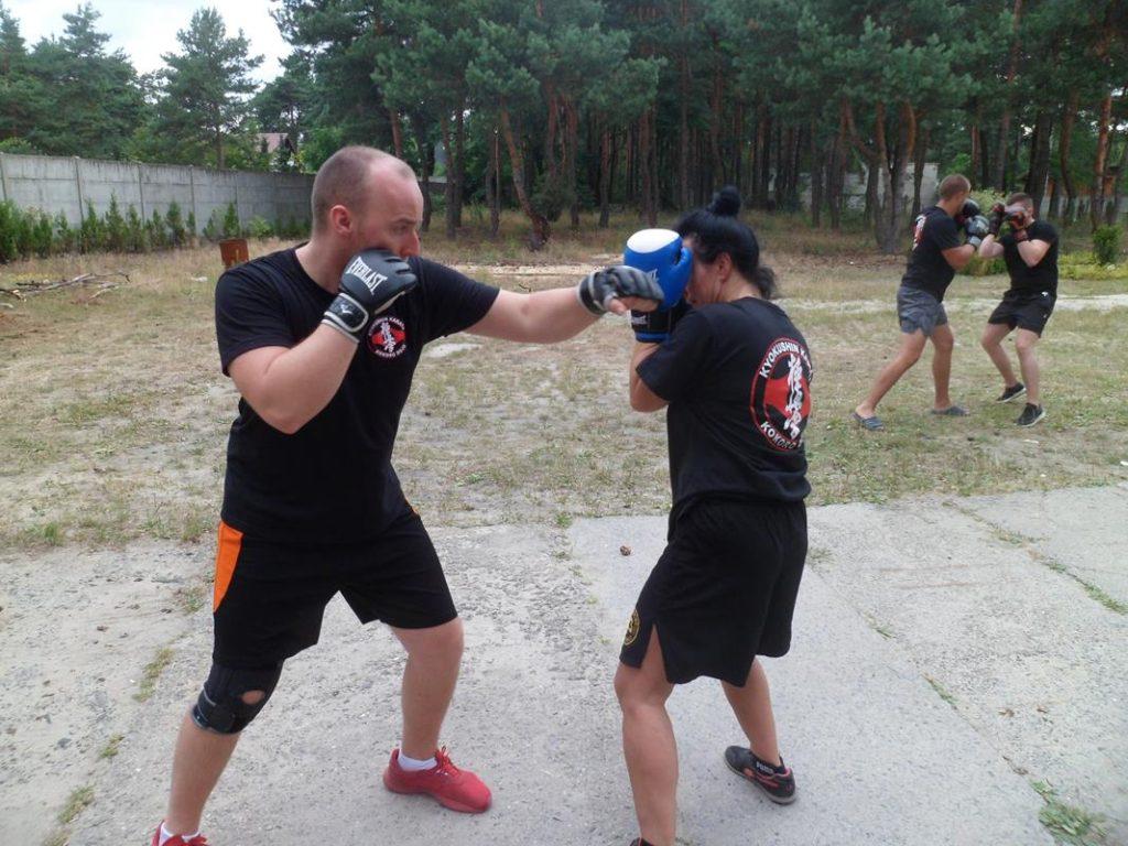 20 Obóz Kyokushin Andrespol Dojo Kokoro Przemysław Kubiak, Małgorzata Ubowska (Copy)