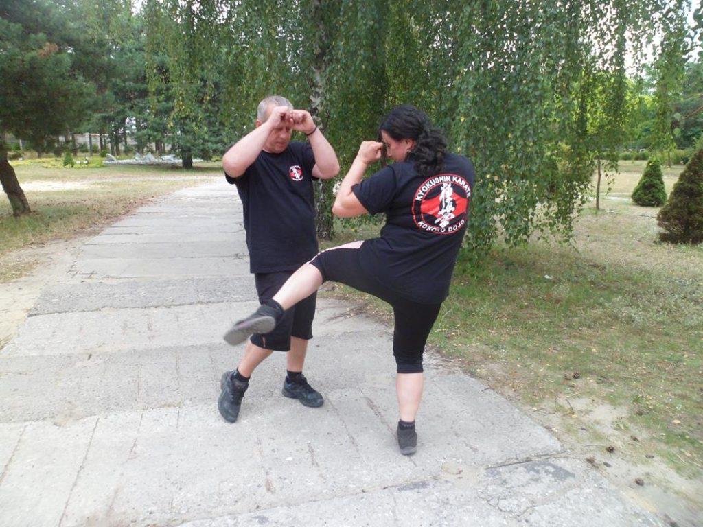 23 Obóz Kyokushin Andrespol Dojo Kokoro Monika Bińczak, Krzysztof Bińczak (Copy)