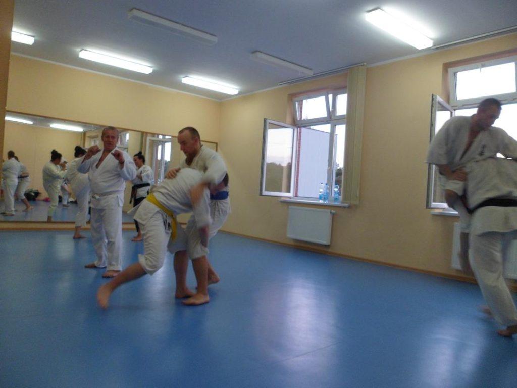 23 Obóz letni Kyokushin Andrespol Kokoro Dojo