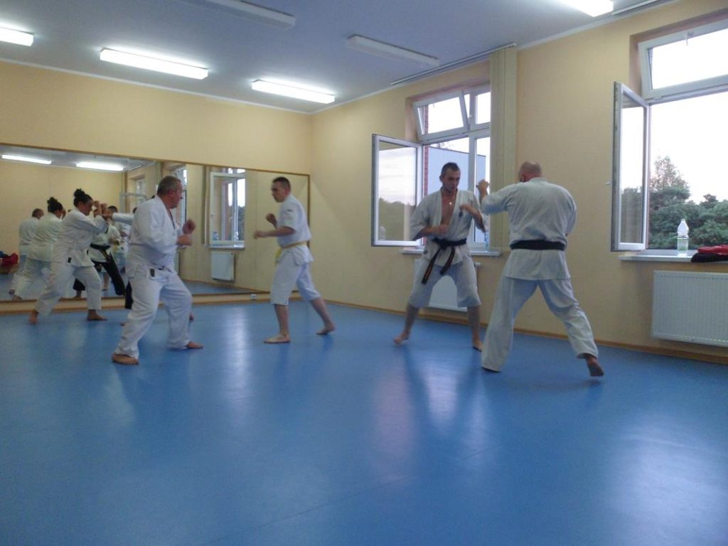 24 Obóz letni Kyokushin Andrespol Kokoro Dojo