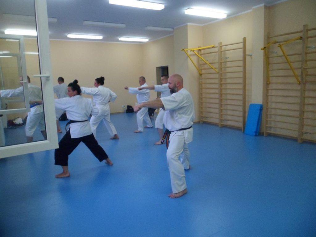 25 Obóz letni Kyokushin Andrespol Kokoro Dojo