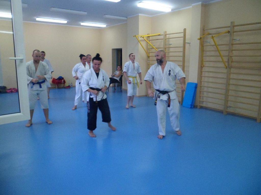 26 Obóz letni Kyokushin Andrespol Kokoro Dojo