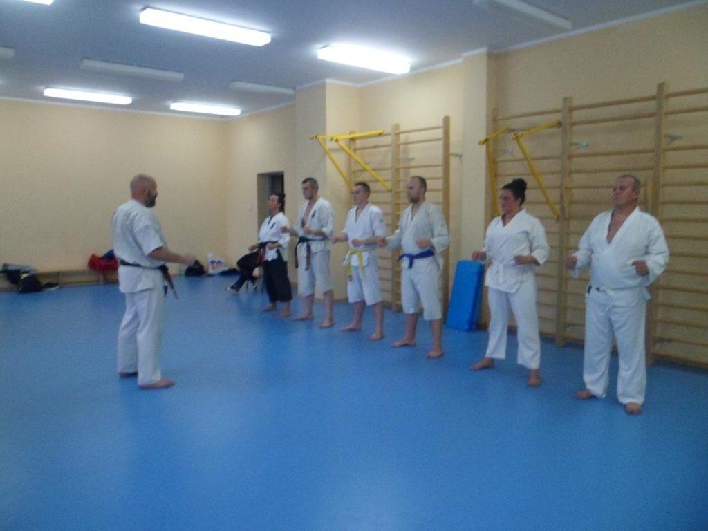 28 Obóz letni Kyokushin Andrespol Kokoro Dojo