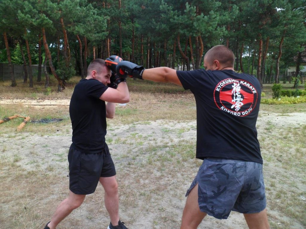 5 Obóz Kyokushin Andrespol Dojo Kokoro Przemysław Lenartowicz, Bartłomiej Musiński (Copy)