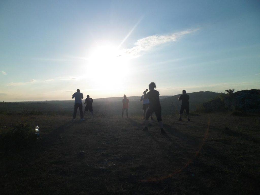 6 Obóz Kyokushin Andrespol Dojo Kokoro Bazelak, Ubowska, Bińczak, Musiński, Kubiak (Copy)