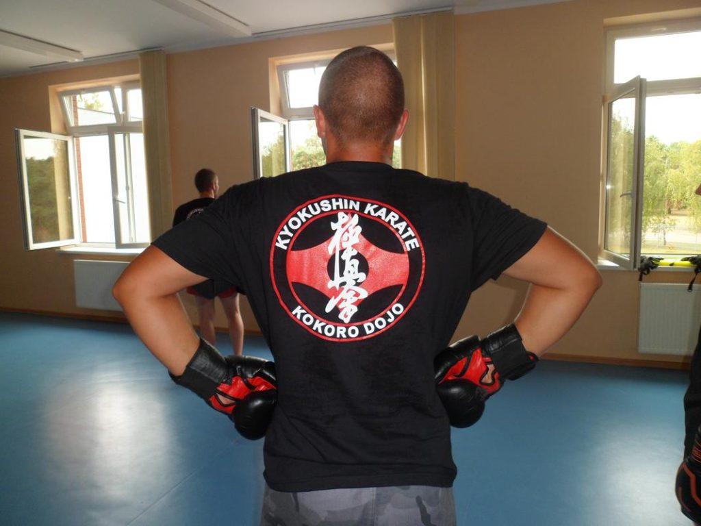 6 Obóz letni Kyokushin Andrespol Kokoro DojoMateusz Bazelak