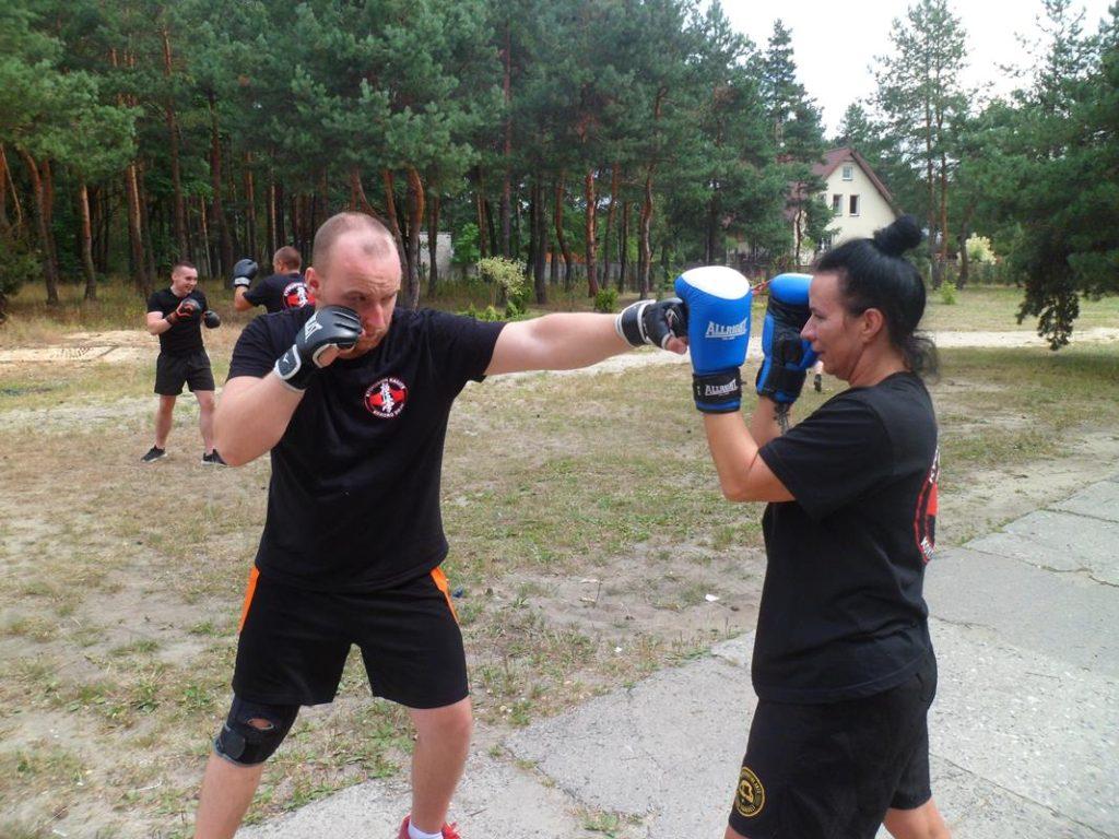 7 Obóz Kyokushin Andrespol Dojo Kokoro Przemysław Kubiak, Małgorzata Ubowska (Copy)