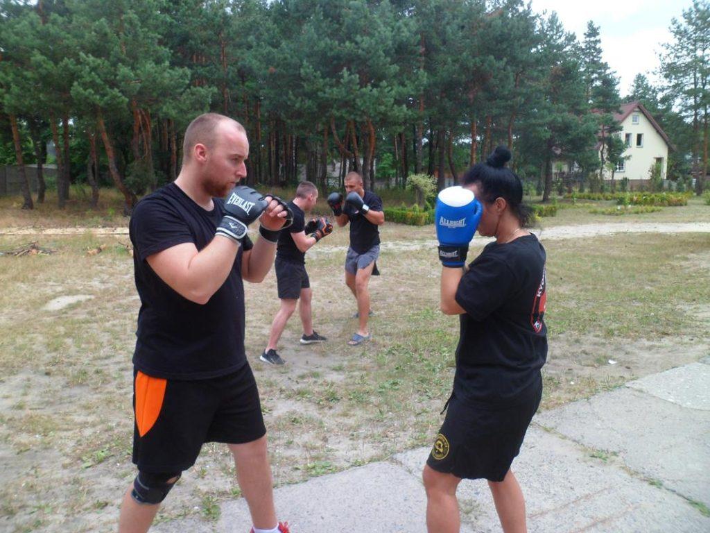 8 Obóz Kyokushin Andrespol Dojo Kokoro Przemysław Kubiak, Małgorzata Ubowska (Copy)