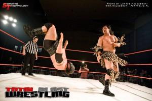 Walka wrestlingowa