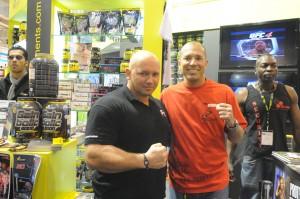 Kamil Bazelak i legenda UFC i brazyliskiego jiu-jitsu Royce Gracie