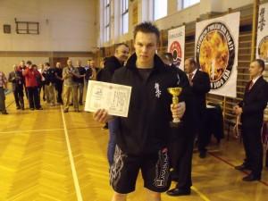 Tomasz Zysk - II miejsce w K-1 Open