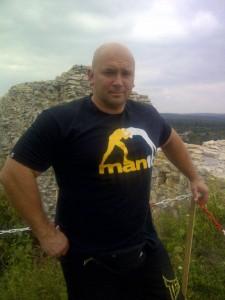 Kamil Bazelak na Zamku w Rabsztynie