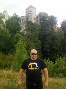 Kamil Bazelak na Zamku Tenczyn w Rudnie