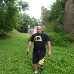 Kamil Bazelak odwiedził Zamek w Pilicy