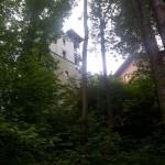 Schody do Zamku w Korzkwi