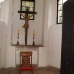 Kapliczka na Zamku w Oporowie