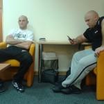 Maciej Sulęcki i Kamil Bazelak w Orange Sport