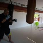 Kamil Bazelak na treningu w Action Club
