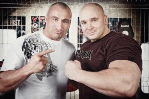 Kamil Bazelak i Marcin Najman (foto:Łukasz Malczewski)