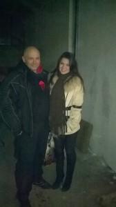 Kamil Bazelak i jego filmowa żona