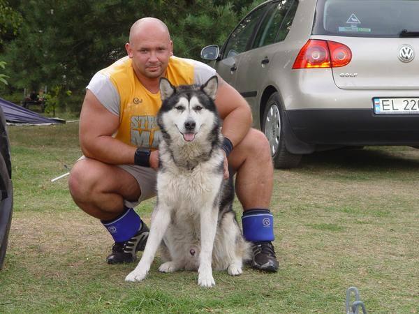 Kamil Bazelak i Rocky