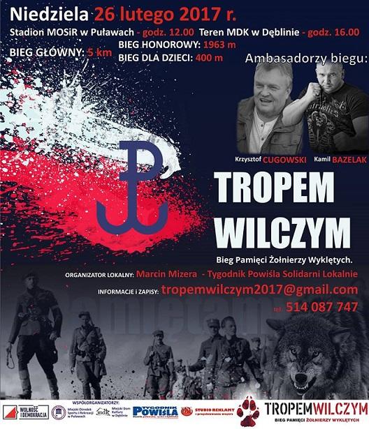 Bieg Wilczym Tropem Kamil Bazelak