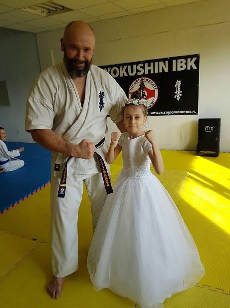 Kamil Bazelak i Zuzanna Wałoszek Dojo Kokoro Kyokushin IBK Andrespol