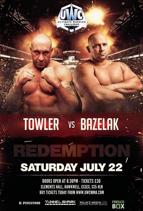 UWC Redemption Kamil Bazelak vs Darren Towler 1