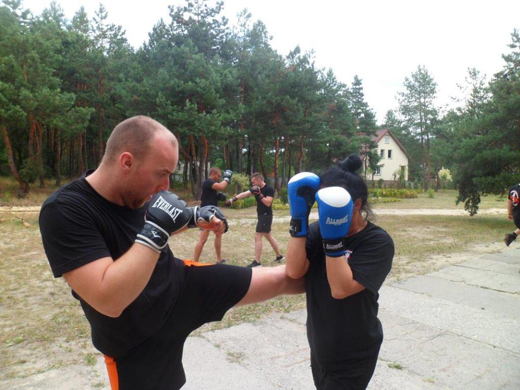 13 Obóz Kyokushin Andrespol Dojo Kokoro Przemysław Kubiak, Małgorzata Ubowska (Copy)