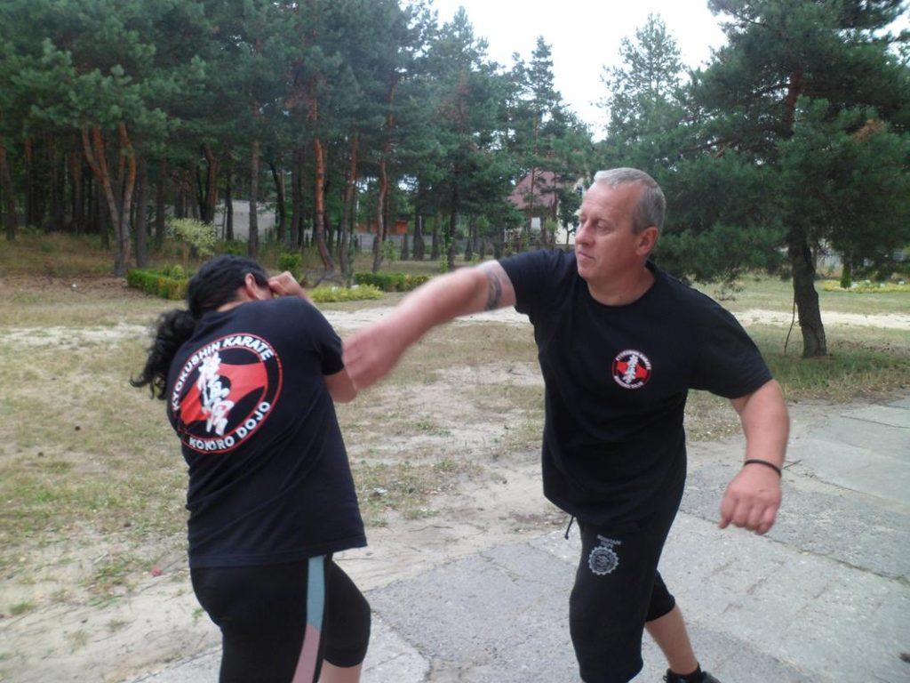 17 Obóz Kyokushin Andrespol Dojo Kokoro Monika Bińczak, Krzysztof Bińczak (Copy)